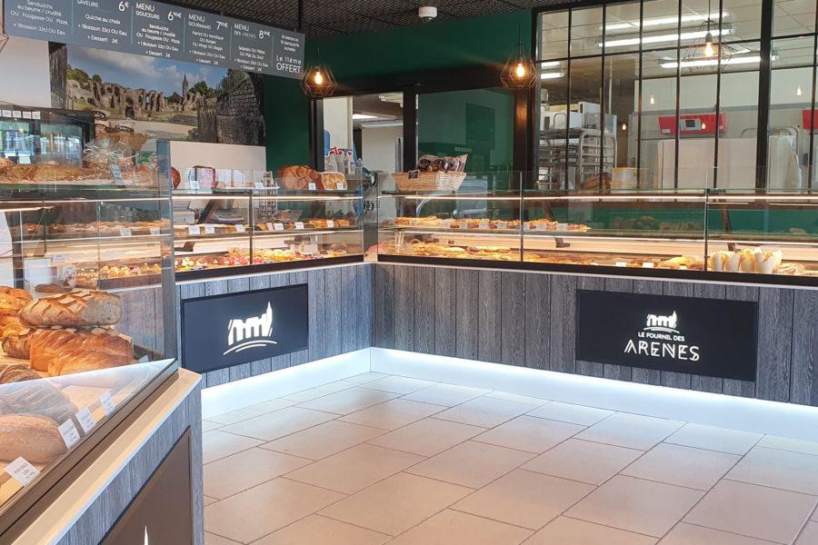 Boulangerie Le fournil des arènes, Saintes