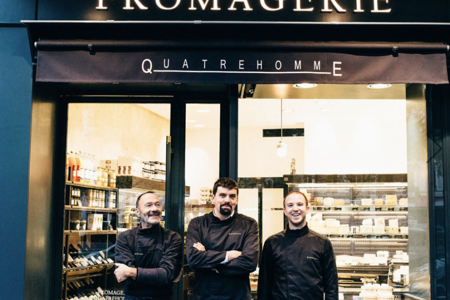 Fromagerie Quatrehomme, Paris
