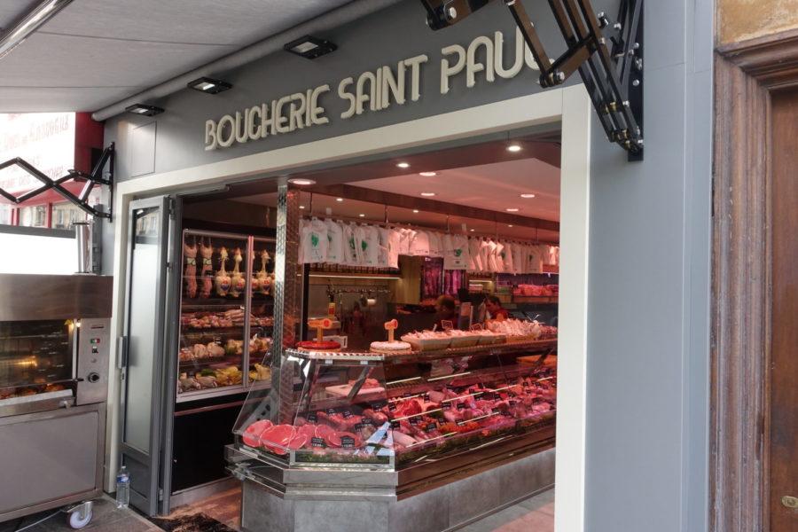 Boucherie saint Paul, Paris